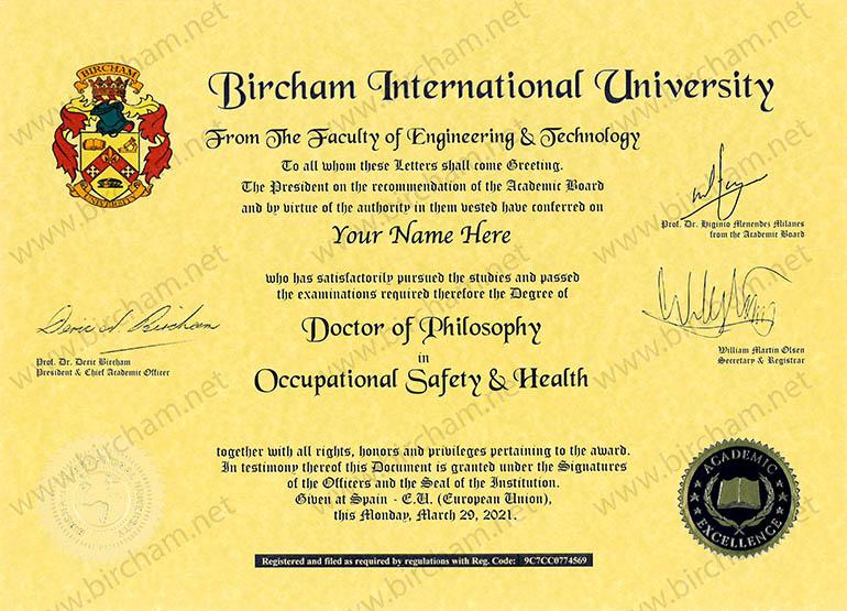 Doutorado (Doctor Ph.D.) Online à distância