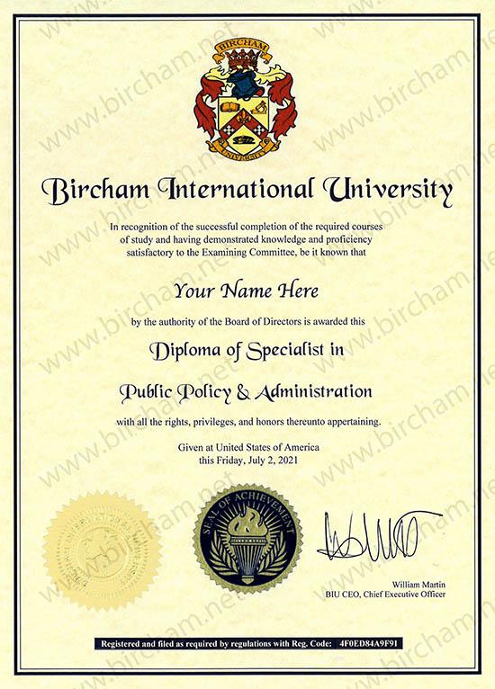Diploma de Especialista - Expert Online à distância